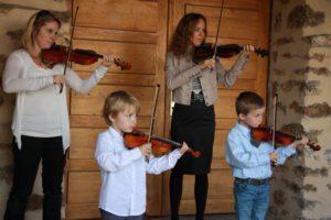 cours de violon Suzuki Centre Culturel le 3.ND à Versailles
